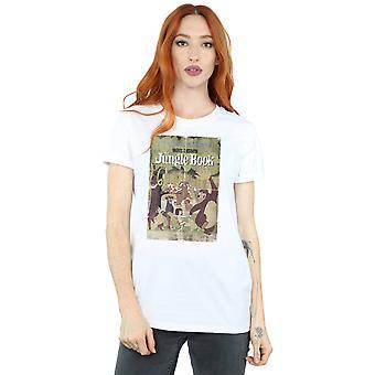 Disney Women's The Jungle Book Retro Poster Boyfriend Fit T-Shirt
