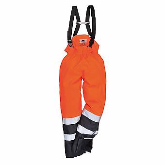 Portwest - Bizflame Rain Specialist Safety Hi-Vis Multi-Protection Trouser