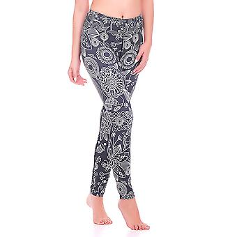 Mio Active Long Mumbai Yoga Pants MS16S10L