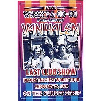 Van Halen letzten Clubausstellung Poster Print von Dennis Loren (14 x 20)