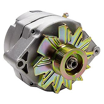 Tuff Stuff 7127K6G Gm Alternator As Cast Int Reg 140 Amp Universal 1 Wire 3 Wire 6G Serp Pulley