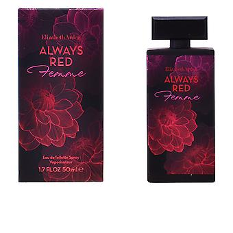 Elizabeth Arden sempre vermelho Femme Edt Spray 100ml para as mulheres