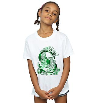 Harry Potter Girls Slytherin Snake T-Shirt
