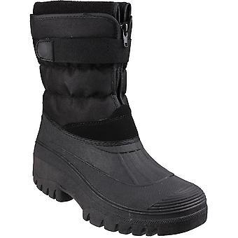 Cotswold Mens Chase Touch & Zip bevestiging gevoerde Winter laarzen