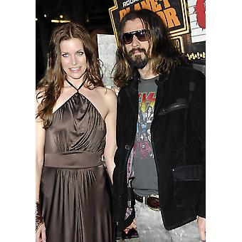 Sheri Moon Rob Zombie At Arrivals For Grindhouse Los Angeles Premiere Orpheum Theatre Los Angeles Ca March 26 2007 Photo By Michael GermanaEverett Collection Celebrity