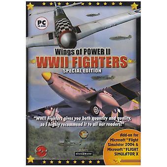 Wings of Power II-tillägg för FS 2004FSX (PC CD)-fabriksförseglade