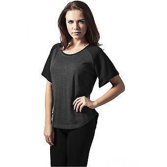 Urban Classics T-Shirt Ladies Raglan HiLo Tee