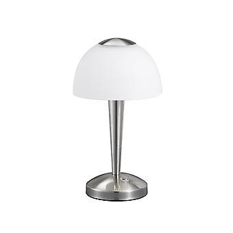 Trio belysning Ventura Modern Nickel Matt metall bordslampa