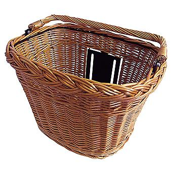 Basil Basimply Wicker front bicycle basket