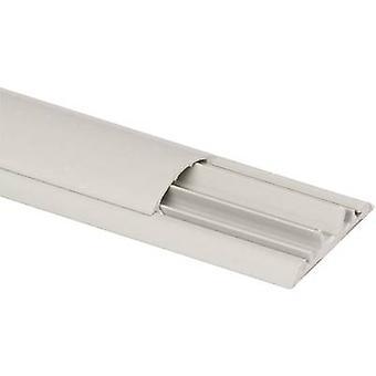 Heidemann 09803 Floor duct (L x W x H) 2000 x 50 x 12 mm 1 pc(s) Grey