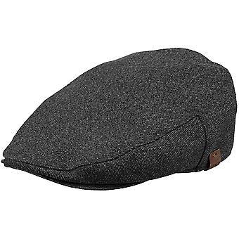 Barts Mens Dayton Wool Blend Adjustable Newsboy Flat Cap