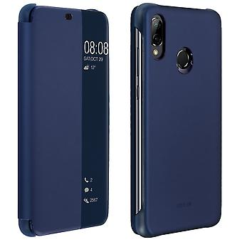 Official Huawei Smart View flip case for Huawei P20 Lite – Dark blue