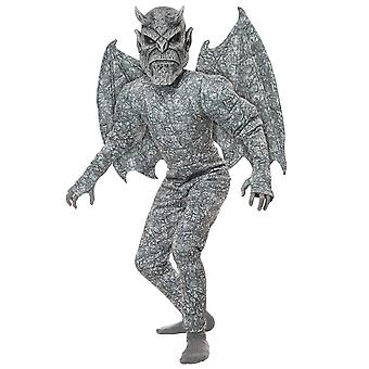 Ghastly Gargoyle Monster Statue Stone Devil Demon Halloween Boys Costume