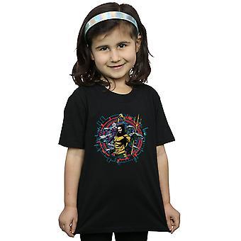 DC Comics Girls Aquaman Circular Crest T-Shirt