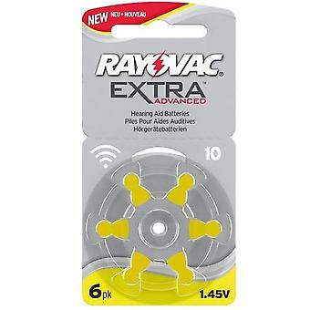 Rayovac Extra Advanced H10-6-pack
