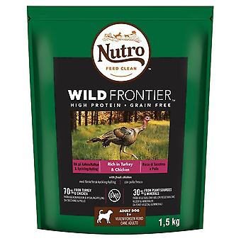 Nutro Wild Frontier adulto Turchia & pollo 1,5 kg secco per cani cibo