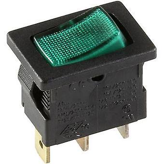interBär Toggle switch 3631-850.22 250 V 10 A 1 x Off/On latch 1 pc(s)