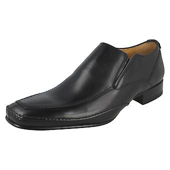 mens Loake Formal resbalón en los zapatos Matthews