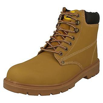 Mens Tradesafe Safety Work Boots Buildern