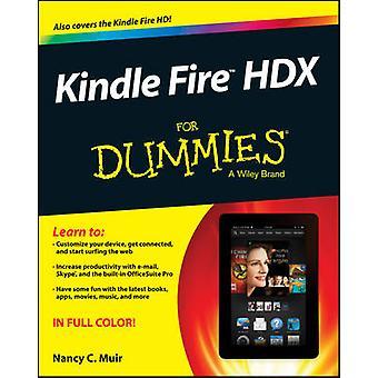 Kindle Fire HDX für Dummies von Nancy C. Muir - 9781118772652 Buch