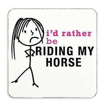 Ladies snarare rida min häst Coaster