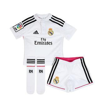 2014-15 real Madrid Adidas hjem Mini Kit