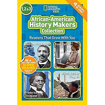 Lettori di National Geographic Kids: African-American History Makers (lettori) (lettori)