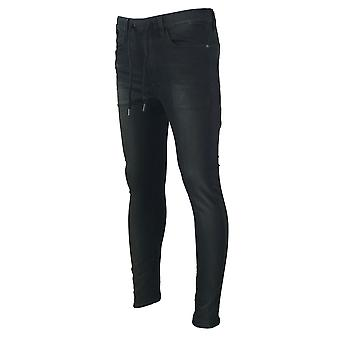 G-Star Type C TYpe C Sport Super Slim Black Rinn Trainer DK Aged Denim Jeans