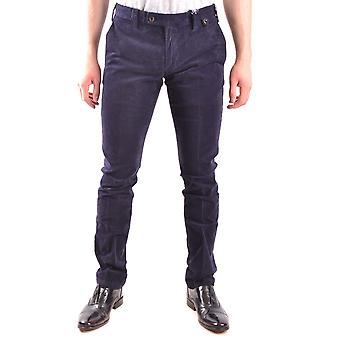At.p.co Ezbc043031 Men's Blue Cotton Pants