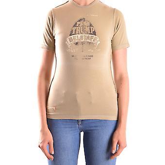 Belstaff Ezbc102011 Women's Green Cotton T-shirt