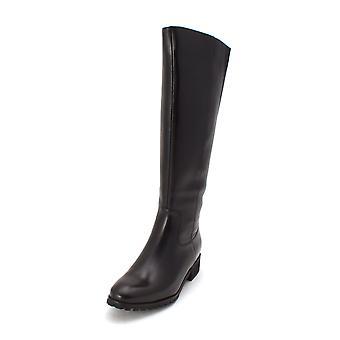 Aqua Womens Pam Leather Closed Toe Knee High Fashion Boots