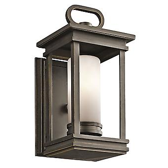 Stead-1 Light Small Wall Laterne-Bronze abgeleitet-KL/SOUTH HOPE/S