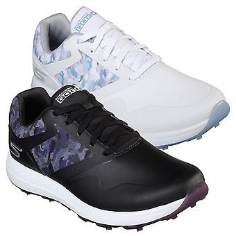 Skechers Womens Go Golf Max Draw Water Resistant Cushion Sole Golf Chaussures