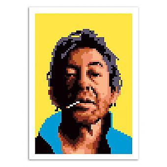 Art-Poster - Old scoundrel - Olivier Bourdereau 50 x 70 cm