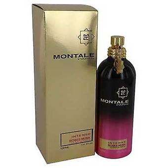 Montale Intense Roses Musk By Montale Extract De Parfum Spray 3.4 Oz (women) V728-542241