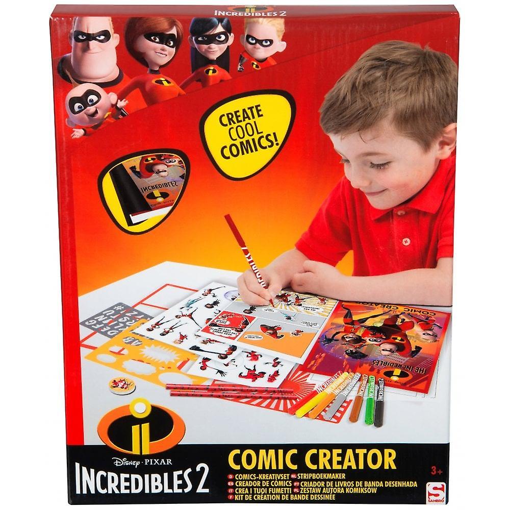 Incredibles Comic Book Creator Set