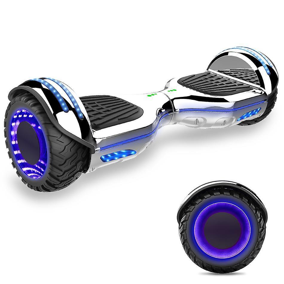 Juiste keuze UL-gecertificeerde zelfbalancerende scooter build met Bluetooth-Speaker en LED-verlichtings wielen