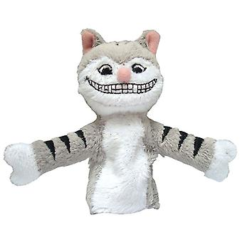 Finger Puppet - UPG - Cheshire Cat Soft Doll Toys Gifts Licensed New 2191