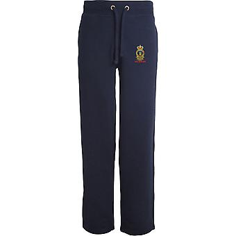Royal Army Ordnance Corps veteran-licenseret British Army broderet åbne hem sweatpants/jogging bunde