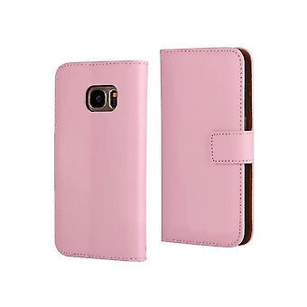 Fall echtes Leder/Wallet-Samsung Galaxy S7