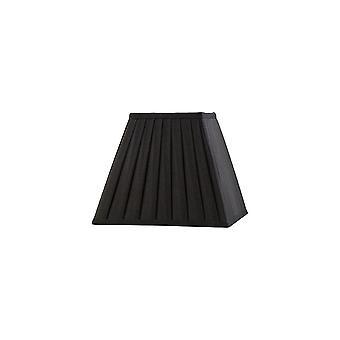Diyas Leela Square Tessuto Pleato Tonalità Nero 100/200mm X 156mm