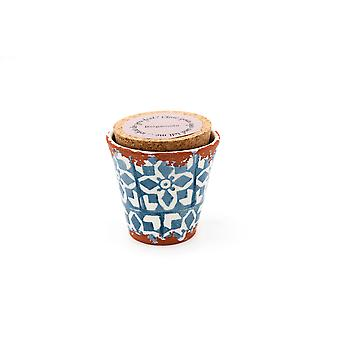 Eura kynttilän Eura keramiikka 8, 5x8cm bergamotin
