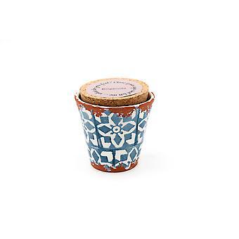 Eura Candle Eura ceramics 8,5x8cm Bergamot