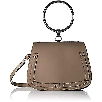 Chicca Bags 8812 Women's Beige shoulder bag (Taupe) 23x17x8 cm (W x H x L)