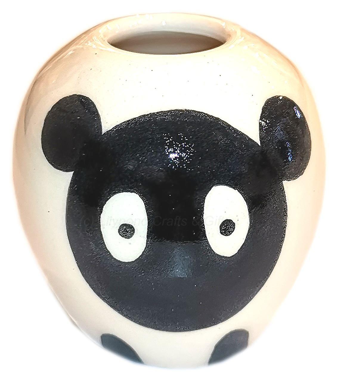 Weebogles Handmade Bud Vase - Sheep