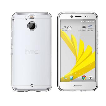HTC 10 إيفو بولت سيليكون حالة شفافة - CoolSkin3T