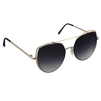 Sunglasses Ladies Cat Eye - Gold/Zwart1997_4