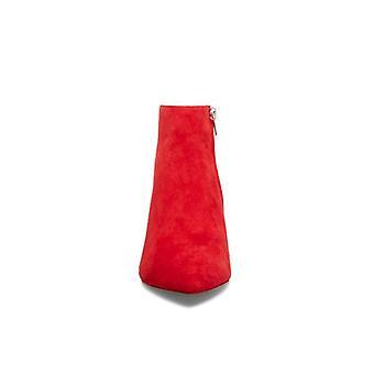 Steve Madden mujeres Kasey cuero cerrado tobillo tobillo botas de moda