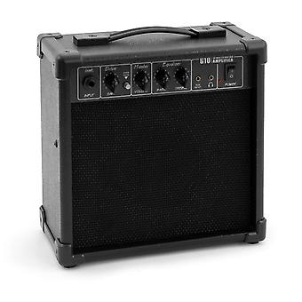 Tiger 10 Watt 2 Channel Guitar Combo Amplifier with Drive, EQ and AUX