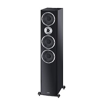 B goederen Heco Elementa 700 3-weg bass reflex speaker zwart/mat afgewerkt, 1 stuk